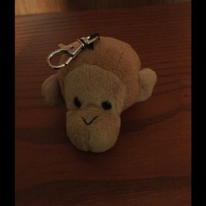 Plush Monkey Keychain/Purse Charm