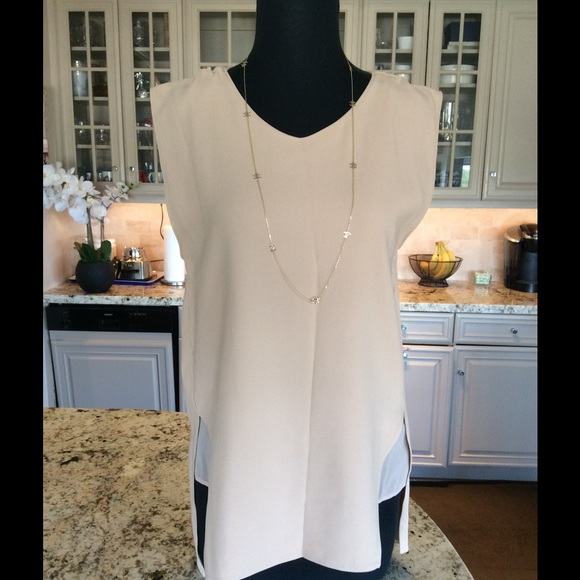 fdfdc70572 ZARA WOMAN STUDIO NUDE TOP W SHEER UNDERNEATH. M 583b0fea78b31c87ad0c53fe