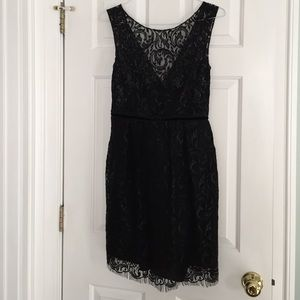 Jenny Yoo Lace Black Dress Size 10