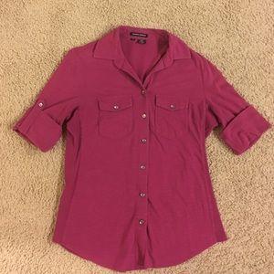 Sandra Ingrish Tops - 100% cotton button down shirt