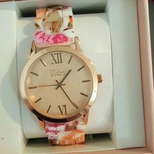 Accessories - Floral Watch