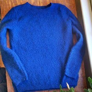 Royal blue cozy sweater