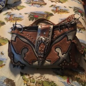 Rustic Couture western purse
