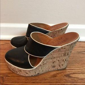 Fiorentini + Baker Shoes - Fiorentini  & baker cork wedge mule