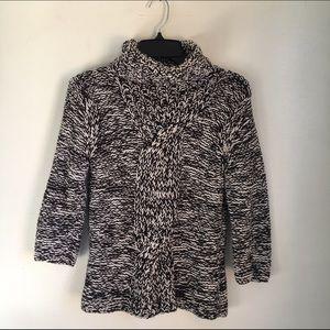 White + Warren Sweaters - White + Warren Chunky Knit Turtleneck Sweater