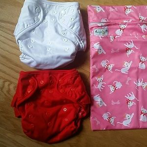 Other - NWOT Diaper Cover, set of two