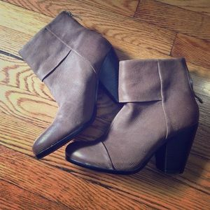 Taupe Vince Camuto Booties