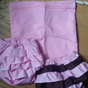 Other - NWOT Diaper Cover set of two