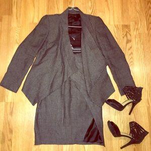 Zara Jackets & Blazers - Zara suit blazer and slit skirt ❤️ NWT