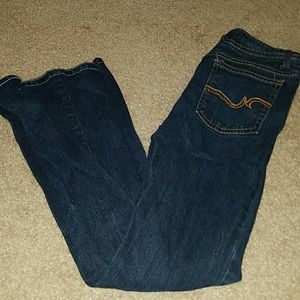 SO Denim - SO low rise boot cut dark jeans size 5 short