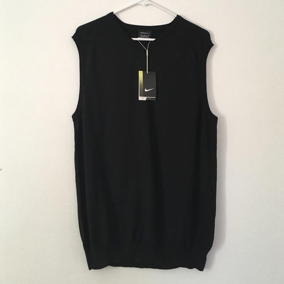 5ec5305350 Black Nike Golf Sweater Vest
