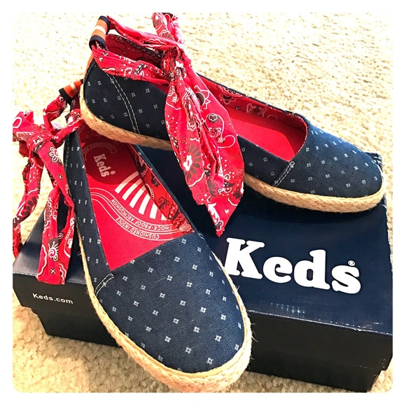 keds ankle wrap shoes