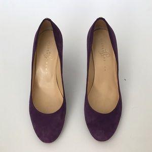 Purple Ivanka Trump 'Amoro' heels