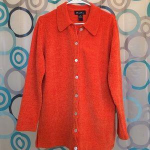 Denim & Co. Sweaters - Denim & Co. Sweater medium orange nice