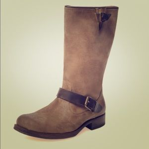n.d.c. Shoes - Beautiful n.d.c. Made by hand Biker Mid Suede Boot