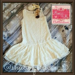 Us Angels Other - Gorgeous Cream Chanelle Lace Drop Waist Dress
