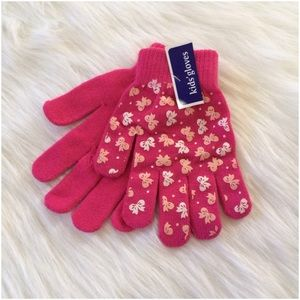 Other - Girl's No Slip Finger Gloves