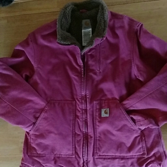 dd84408a91849 Carhartt Jackets   Blazers - Pink Carhartt Womens Large Super Warm and Cute!