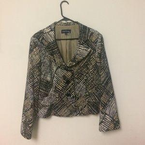 Evan Picone Jackets & Blazers - Chic Evan Picone Suit Blazer Jacket