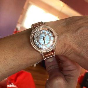 bebb4e5fa374 Michael Kors Accessories - Michael Kors Mini Kerry Rose Gold Watch