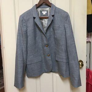 J Crew Schoolboy Blazer: Grey