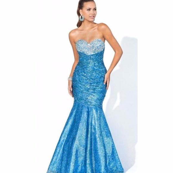 6c410ac72f76 Blush Dresses | Stylishly Shimmering Mermaid Dress By | Poshmark