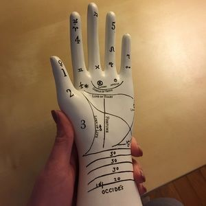 urban outfitters astrology hand