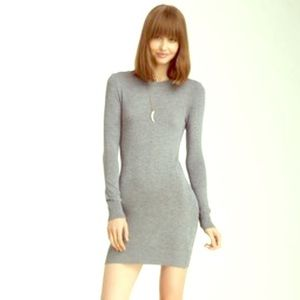 ⭐️BNW/OT⭐️American Apparel Grey sweater dress!