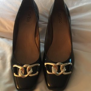 me too Shoes - Me Too Black Patent Leather Heels 👠 Size 12