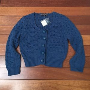 NEW Forever 21 Cropped Sweater Sz S