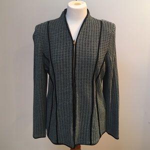 Misook Jackets & Blazers - Misook Zip front Jacket