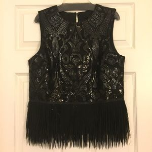 English Factory Tops - Gorgeous sequin top!