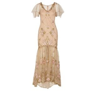 Marchesa Dresses & Skirts - *SALE* Marchesa Embroidered Tulle Gown