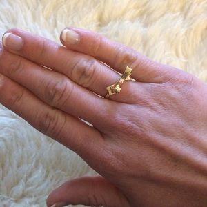 Kate Spade Skinny Mini Bow Ring