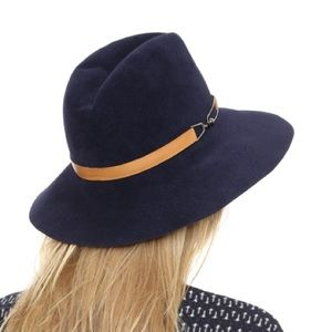 Eugenia Kim Accessories - Eugenia Kim Navy Farrah Hat