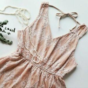 American Rag Dresses & Skirts - American Rag Dusty Rose Lace Dress