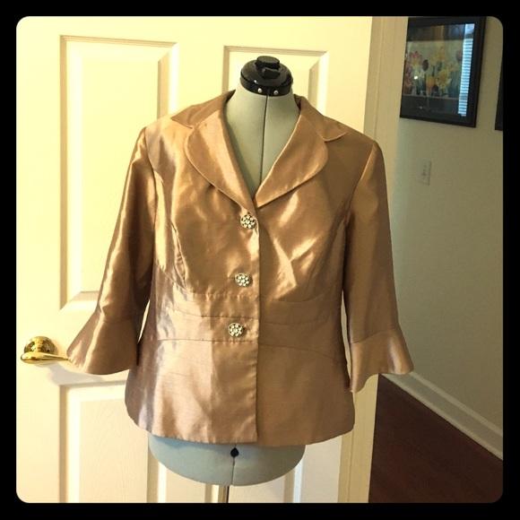 678b2034e71 ️Dana Kay plus size formal jacket