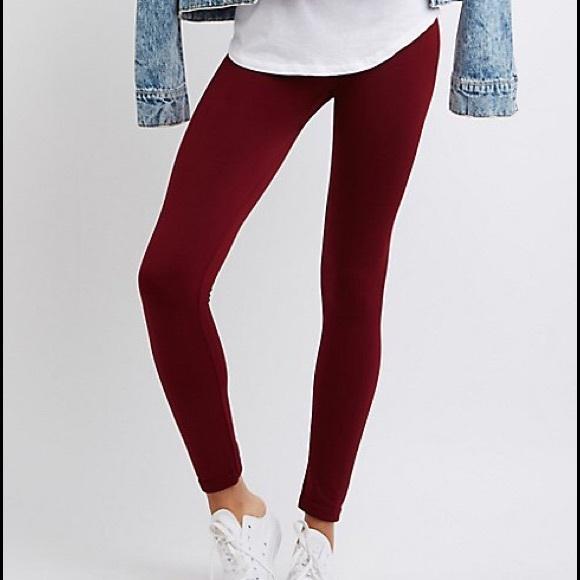 f6071df975e015 Charlotte Russe Pants | Nwt Fleece Lined Leggings Tights | Poshmark