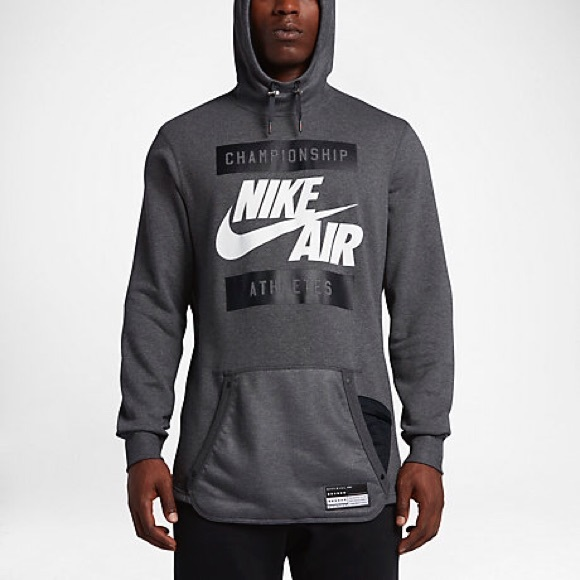 d2ec473793935 Men s Nike Air Champion Athlete Hoodie 802638 NWT