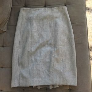 Express Grey (Black and White) Pencil Skirt XS