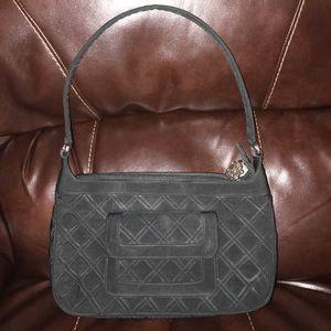 Vera Bradley Black Quilted Small Shoulder Bag
