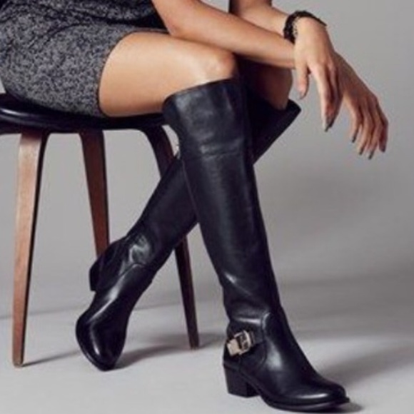 1471e93697a Vince Camuto Bocca Over the Knee boots black OTK. M 583b4a92981829bf9c0d4d4f