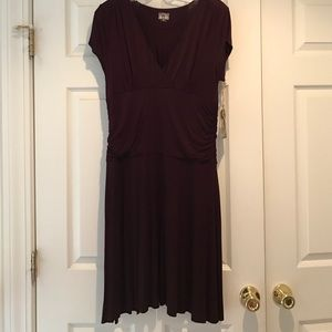 Converse One Star Wine Colored Dress- NWT