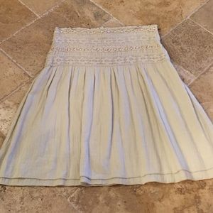 Hard Tail Dresses & Skirts - Tan beaded Hard Tail skirt