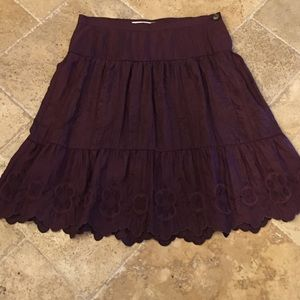 Ruehl No. 925 Dresses & Skirts - Maroon skirt from Ruehl No. 925