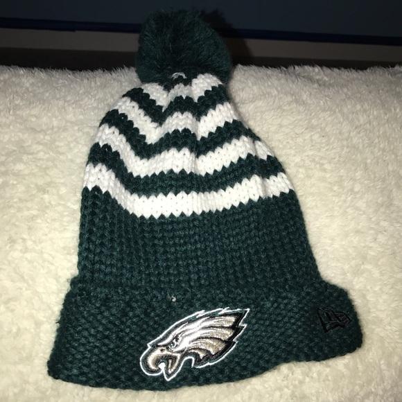 Philadelphia eagles knit beanie. M 583b5198522b45662b0d6ffc. Other  Accessories ... 7dad5d0f8