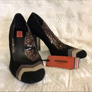 Missoni for Target Shoes - ✨NWT Missoni for Target Suede Heels