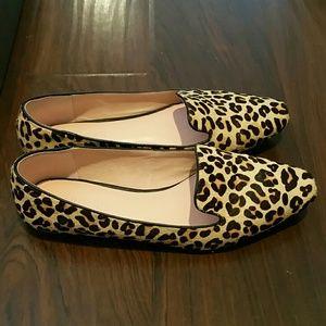 Maumero Shoes - Maumero Jasper leopard print women's flat shoes