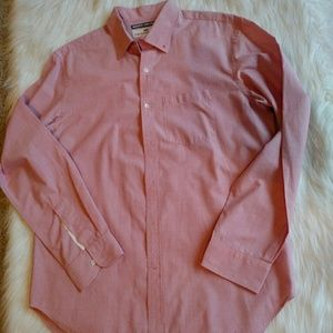 Old Navy Other - Old Navy linen blend pink shirt Large