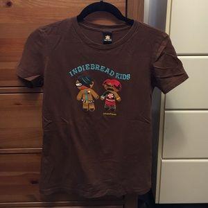 """Julius Tops - Brown Julius & Friends """"Indiebread Kids"""" tee"""